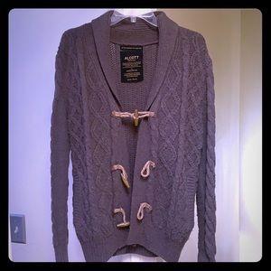 Alcott knit sweater brown